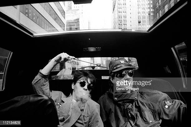 Simon le Bon and Andy Taylor of Duran Duran in New York City 1984