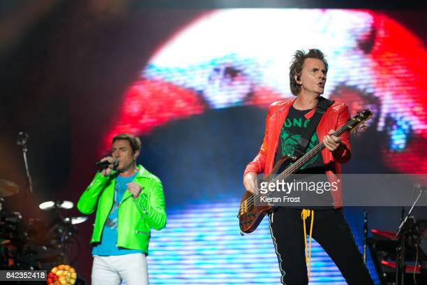 Simon Le Bon and John Taylor of Duran Duran perform at Electric Picnic Festival at Stradbally Hall Estate on September 3 2017 in Laois Ireland