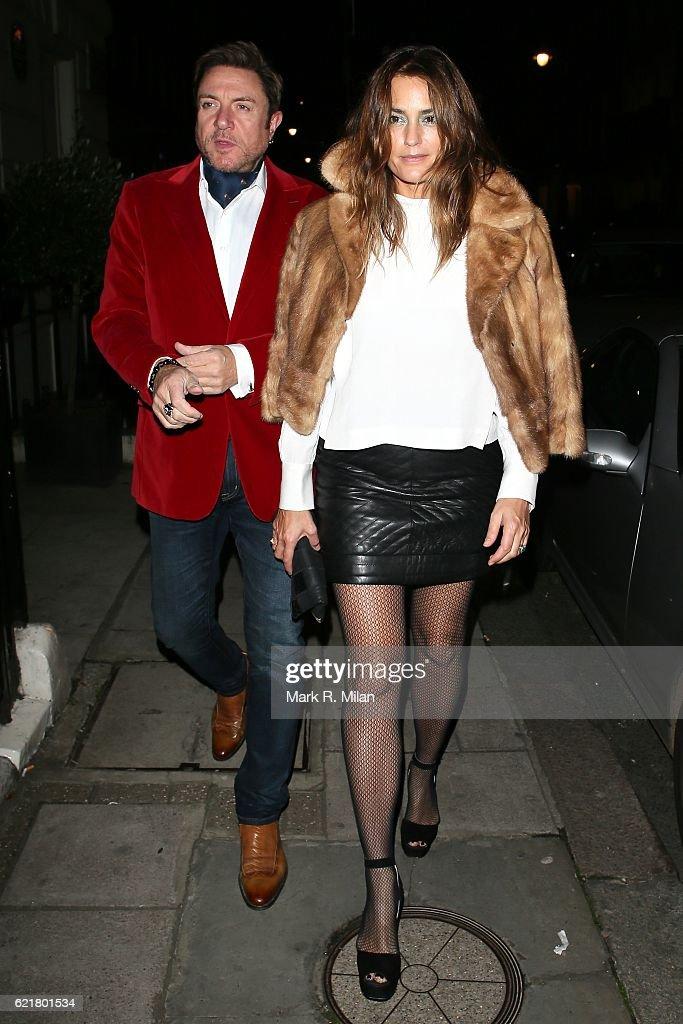 London Celebrity Sightings -  November 08, 2016 : News Photo