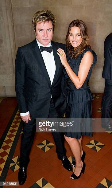 Simon le Bon and Yasmin le Bon in YLB attend the British Fashion Awards at Royal Courts of Justice Strand on December 9 2009 in London England