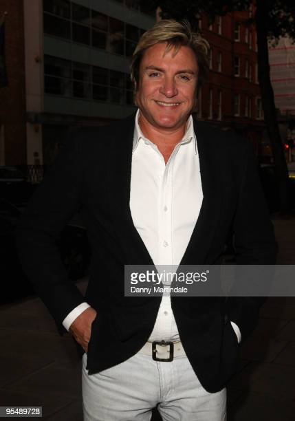 Simon Le Bon arrives for the launch party of YLB for Wallis on September 9 2009 in London England