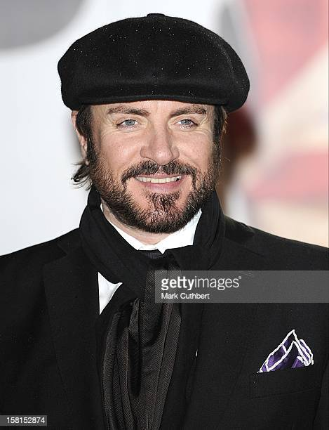 Simon Le Bon Arriving For The 2011 Brit Awards At The O2 Arena London