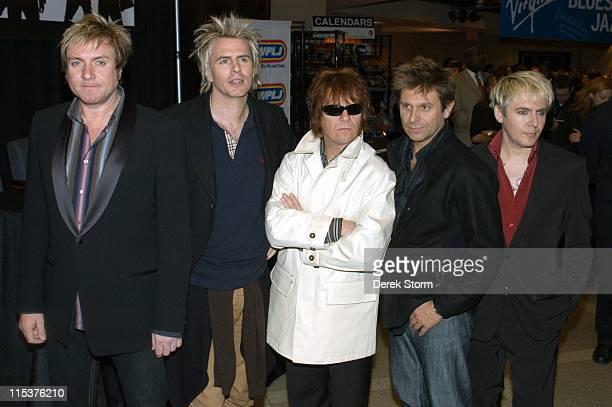 Simon Le Bon James Taylor Andy Taylor Roger Taylor Nick Rhodes of Duran Duran