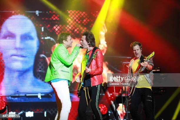 03 Simon Le Bon John Taylor Andy Taylor of Duran Duran performs at Electric Picnic Festival at Stradbally Hall Estate on September 3 2017 in Laois...