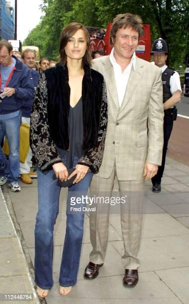 Simon Le Bon of Duran Duran and wife Yasmin Le Bon