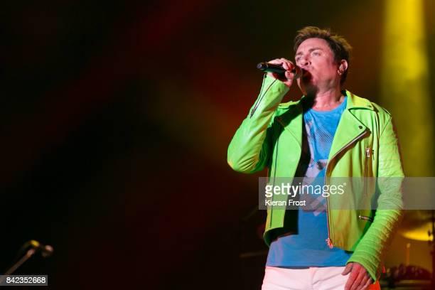 Simon Le Bon of Duran Duran perform at Electric Picnic Festival at Stradbally Hall Estate on September 3 2017 in Laois Ireland