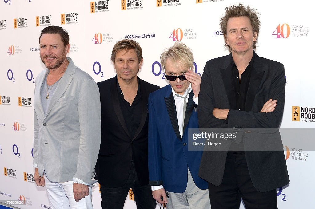simon le bon roger taylor nick rhodes and john taylor from duran duran attends - Silver Hotel 2015
