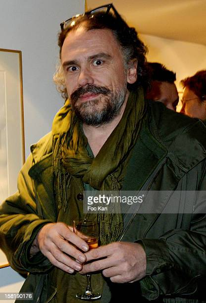 Simon Liberati attends the Designer Kevin Lyons And Various Artists Exhibition Preview At Colette on December 10 2012 in Paris France