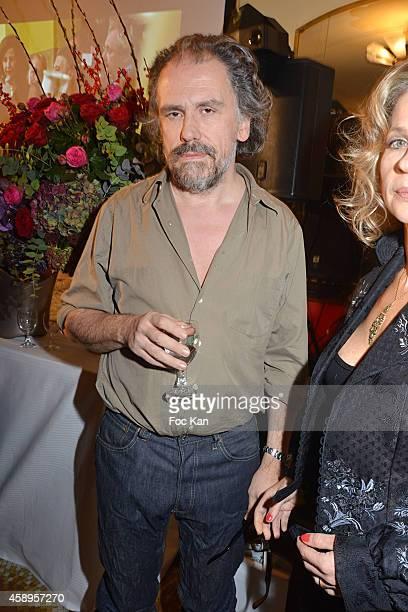 Simon Liberati attends the 'Prix De Flore 2014' Literary Prize 20th Anniversary Ceremony Cocktail at the Cafe de Flore on November 13 2014 in Paris...