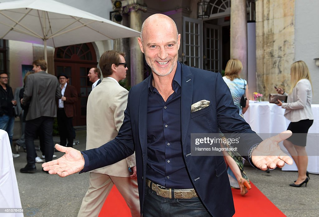 Simon Licht attends the Bavaria Reception at the Kuenstlerhaus as part of the Munich Film Festival 2014 on July 1, 2014 in Munich, Germany.