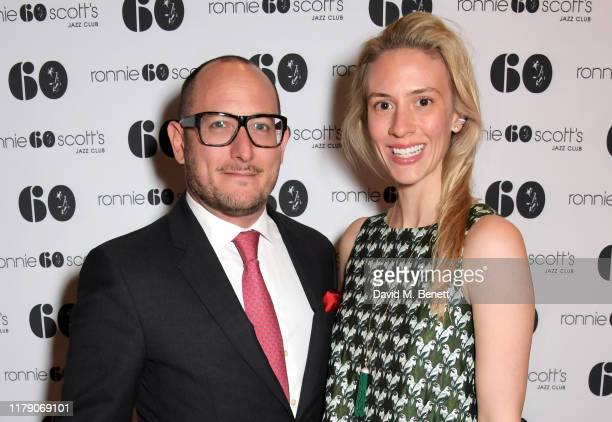 Simon Liebel and Lily Liebel attend A Night At Ronnie Scotts 60th Anniversary Gala at the Royal Albert Hall on October 30 2019 in London England