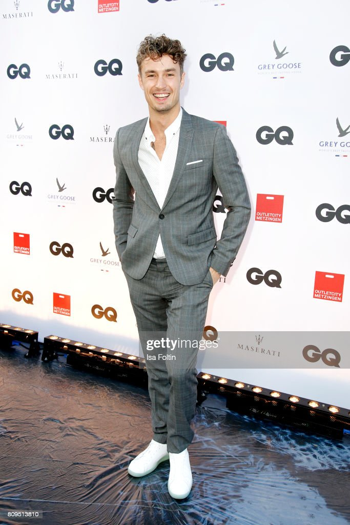Simon Lohmeyer attends the GQ Mension Style Party 2017 at Austernbank on July 5, 2017 in Berlin, Germany.