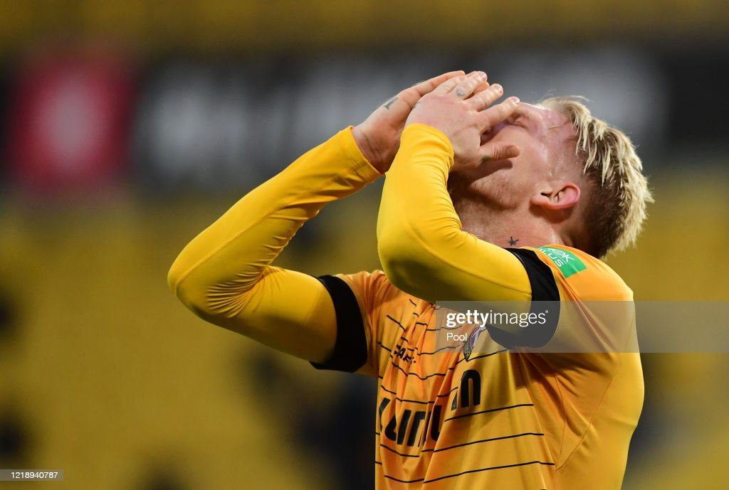 SG Dynamo Dresden v SpVgg Greuther Fürth - Second Bundesliga : News Photo