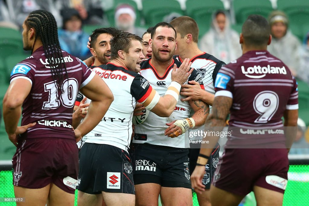 NRL Rd 17 - Sea Eagles v Warriors