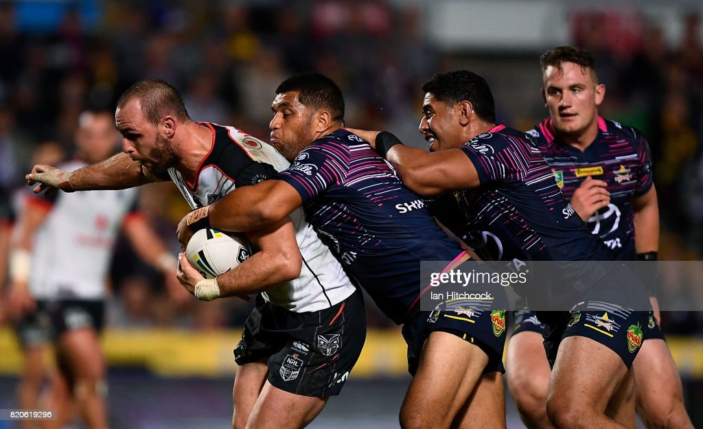 NRL Rd 20 - Cowboys v Warriors