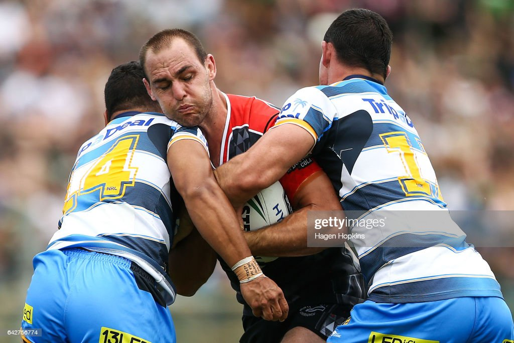 NRL Trial - Warriors v Titans