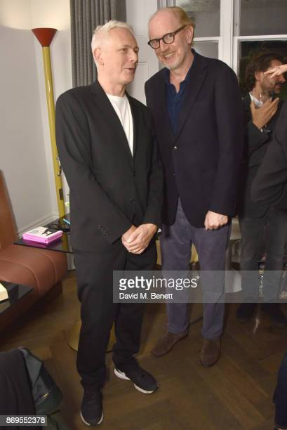 Simon Marks and Murray Partridge attend the launch of new book 'How To Live With An Alpha Female' By Murray Partridge and Simon Marks at The Laslett...