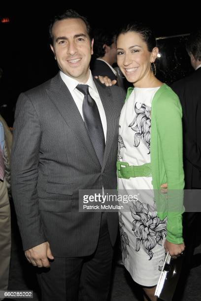 Simon Masri and Shelly Masri attend ENRIQUE NORTEN Private Dinner Celebrating the 25th Anniversary of TEN ARQUITECTOS at The Four Seasons Restaurant...