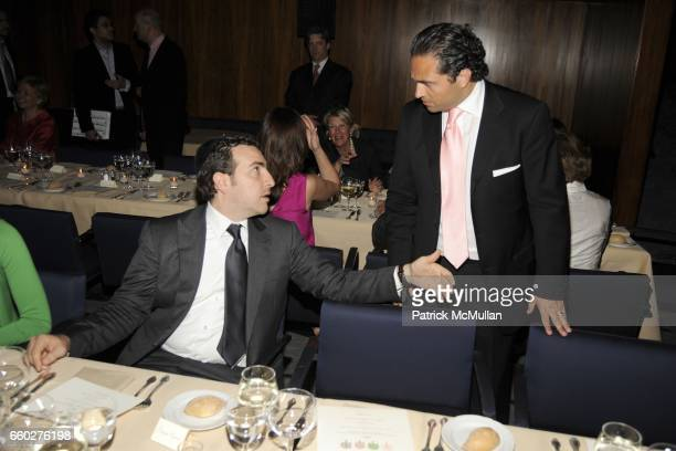Simon Masri and Solly Assa attend ENRIQUE NORTEN Private Dinner Celebrating the 25th Anniversary of TEN ARQUITECTOS at The Four Seasons Restaurant on...