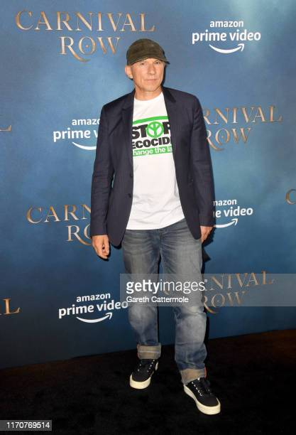 Simon McBurney attends the Amazon Original series Carnival Row London Screening at The Ham Yard Hotel on August 28 2019 in London England