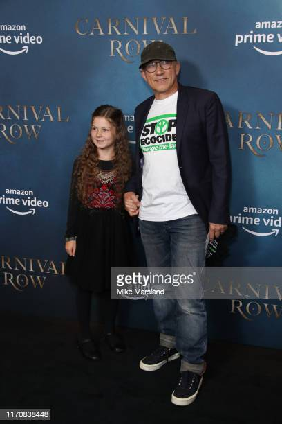 Simon McBurney attends the Carnival Row London Premiere at The Ham Yard Hotel on August 28 2019 in London England