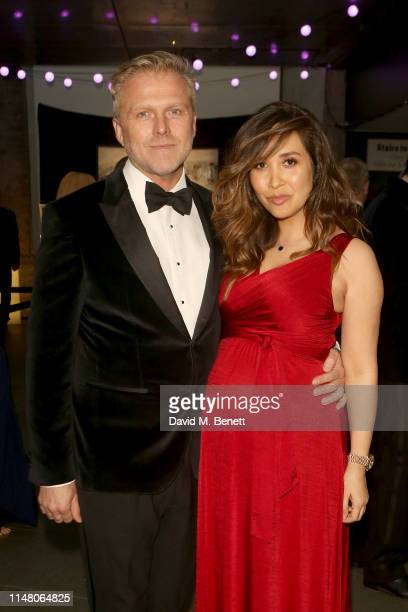 Simon Motson and Myleene Klass attend the Save The Children Centenary Gala at The Roundhouse on May 09 2019 in London England