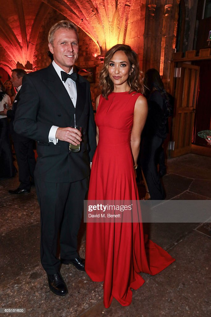 Simon Motson and Myleene Klass attend the Save The Children Winter Gala at The Guildhall on November 22, 2016 in London, England.