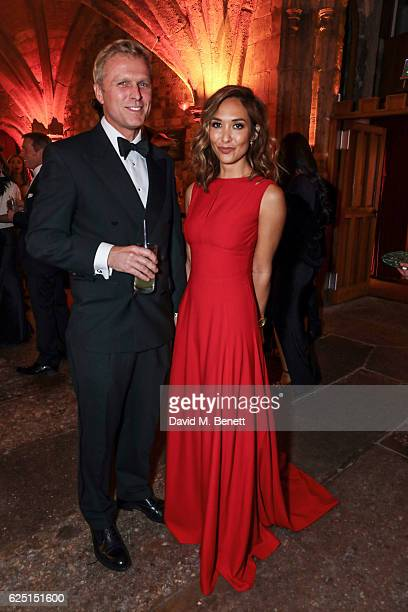Simon Motson and Myleene Klass attend the Save The Children Winter Gala at The Guildhall on November 22 2016 in London England