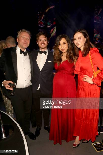 Simon Motson Richard Jones Myleene Klass and Sophie EllisBextor attends the Save The Children Centenary Gala at The Roundhouse on May 09 2019 in...
