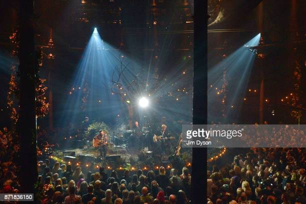 Simon Neil James Johnston and Ben Johnston of Biffy Clyro perform an exclusive set for MTV Unplugged as part of MTV Music Week ahead of the 2017 MTV...