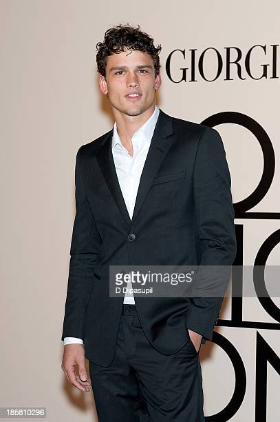 Simon Nessman attends Armani One Night Only New York at SuperPier on October 24 2013 in New York City