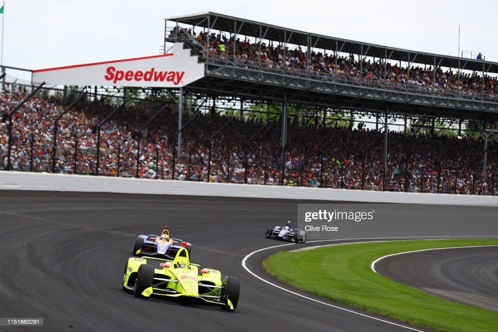 103rd Indianapolis 500 : News Photo