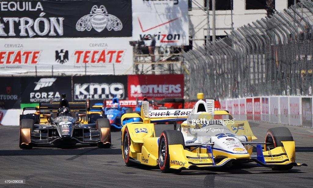 Toyota Grand Prix in Los Angeles : News Photo