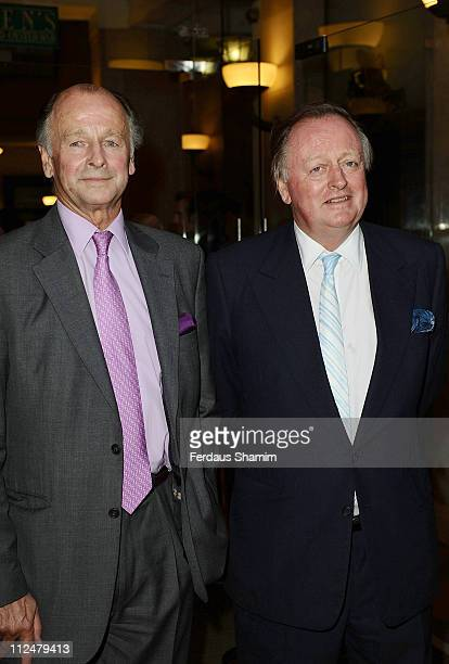 Simon parker Bowles and Andrew Parker Bowles attends the opening of Greens Restaurant and Oyster Bar on September 1 2009 in London England