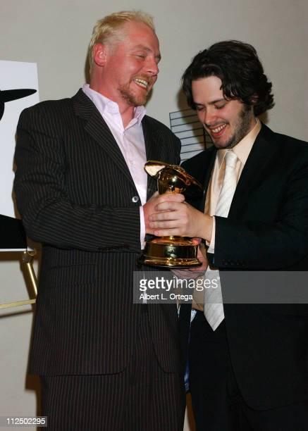 Simon Pegg and Edgar Wright winners for Best Horror Film for 'Shaun of the Dead'