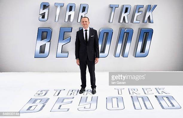 Simon Pegg arrives for the UK premiere of Star Trek Beyond at Empire Leicester Square on July 12 2016 in London UK