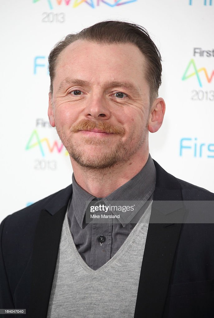 Simon Pegg attends the First Light Awards at Odeon Leicester Square on March 19, 2013 in London, England.