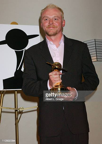 Simon Pegg winner for Best Horror Film for 'Shaun of the Dead'