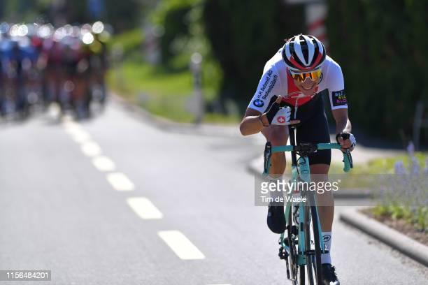 Simon Pellaud of Switzerland and Team Switzerland / during the 83rd Tour of Switzerland, Stage 3 a 162,3km stage from Flamatt to Murten 448m / TDS /...
