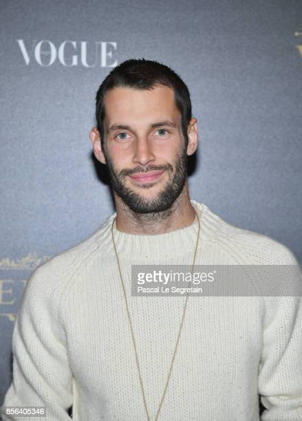 Simon Porte Jacquemus attends the Irving Penn Exhibition Private Viewing Hosted by Vogue as part of the Paris Fashion Week Womenswear Spring/Summer...