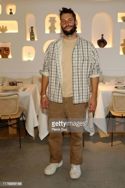 """Simon Porte Jacquemus attends the """"Oursin""""- Jacquemus Restaurant Opening as part of Paris Fashion Week on September 24, 2019 in Paris, France."""