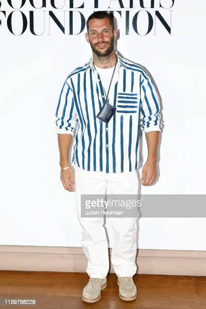 Simon Porte Jacquemus attends the Vogue diner as part of Paris Fashion Week Haute Couture Fall Winter 2020 at Le Trianon on July 02 2019 in Paris...