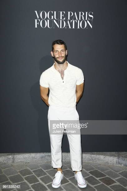 Simon Porte Jacquemus attends Vogue Foundation Dinner Photocall as part of Paris Fashion Week Haute Couture Fall/Winter 20182019 at Musee Galliera on...
