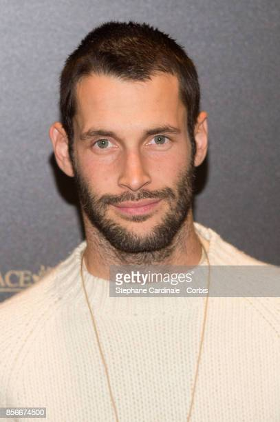 Simon Porte Jacquemus attends Vogue Party as part of the Paris Fashion Week Womenswear Spring/Summer 2018 at on October 1 2017 in Paris France