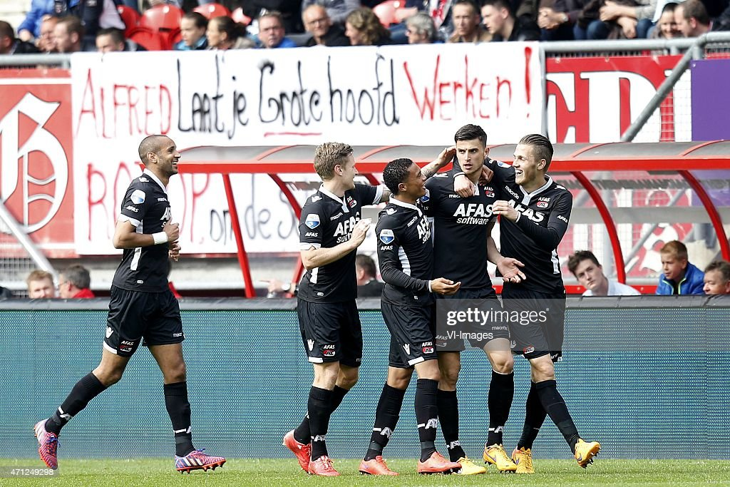 "Dutch Eredivisie - ""FC Twente v AZ Alkmaar"" : News Photo"