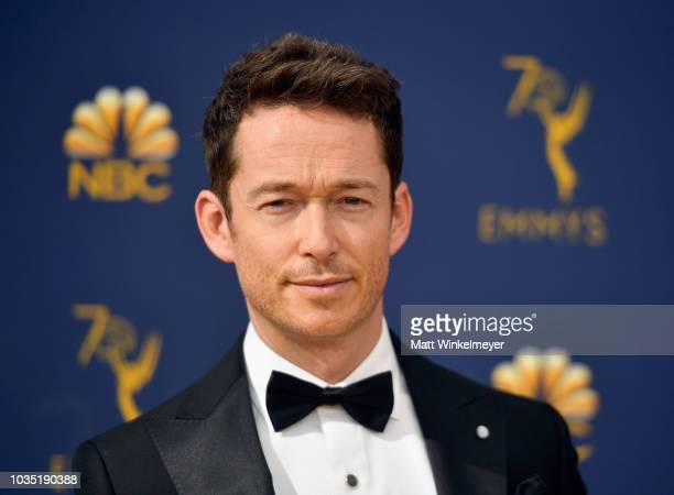 Simon Quarterman attends the 70th Emmy Awards at Microsoft Theater on September 17 2018 in Los Angeles California