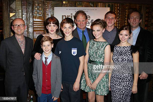 Simon Reade Sam Bottomley Alexandra Roach Hero Fiennes Tiffin Michael Morpurgo Izzy MeikleSmall George Mackay Eline Powell and Guy de Beaujeu attend...