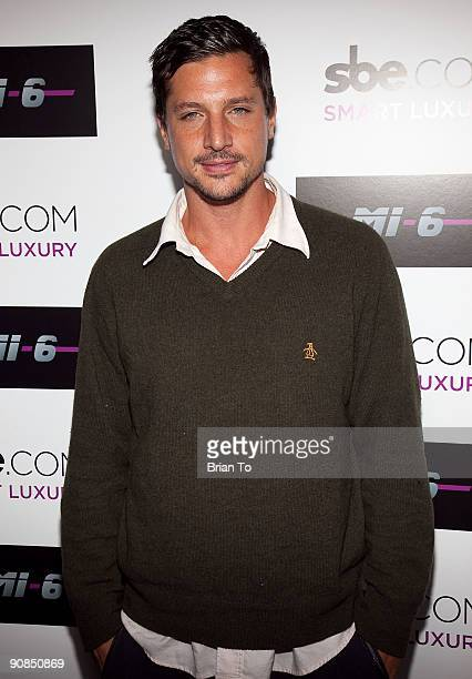 Simon Rex attends Mi6 Nightclub Grand Opening Party on September 15 2009 in West Hollywood California