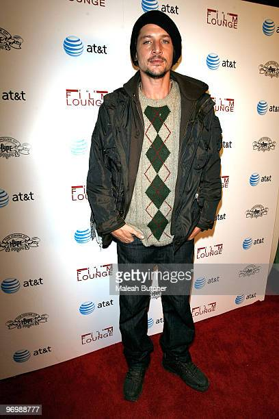 Simon Rex attends The Film Lounge at House of Hype on January 24 2010 in Park City Utah