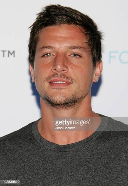 Simon Rex during Crest Vivid White Night Presents 'Fall for White' Arrivals at Private Residence in Malibu California United States